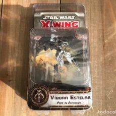 Juegos de mesa: STAR WARS X-WING - VÍBORA ESTELAR - FANTASY FLIGHT GAMES - JUEGO DE MINIATURAS. Lote 107169139