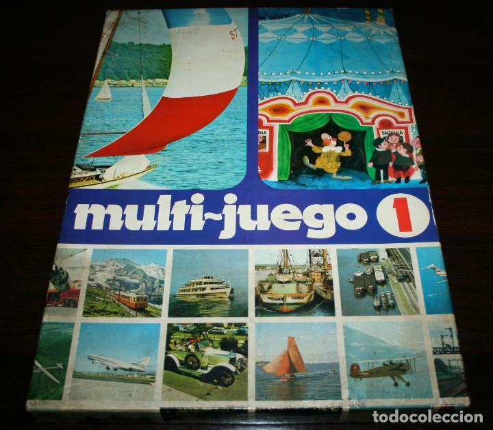MULTI-JUEGO 1 EDUCA - PUZLE + JUEGO DE MESA + JUEGO ENCUENTRA LAS PAREJAS - AÑOS 70 (Juguetes - Juegos - Juegos de Mesa)