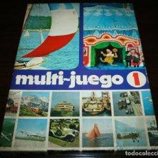 Juegos de mesa: MULTI-JUEGO 1 EDUCA - PUZLE + JUEGO DE MESA + JUEGO ENCUENTRA LAS PAREJAS - AÑOS 70. Lote 107173403