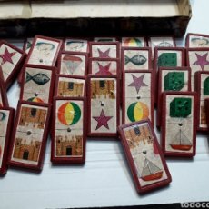 Juegos de mesa: ANTIGUO DOMINÓ INFANTIL BORRAS MADERA AÑOS 50. Lote 107212656