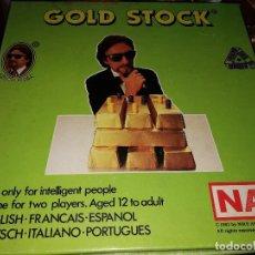 Juegos de mesa: JUEGO NAC GOLD STOCK (1983) SIN JUGAR . Lote 107293311