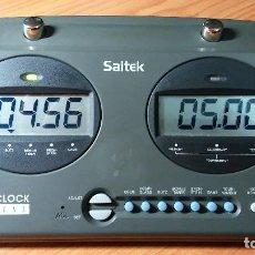 Juegos de mesa: RELOJ DE AJEDREZ DIGITAL SAITEK GAME CLOCK. Lote 107329899
