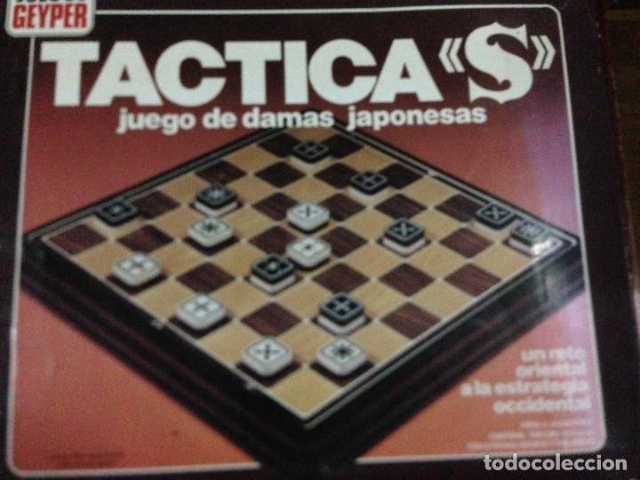 Tactica S Tacticas Damas Japonesas Juego De Mes Comprar Juegos De