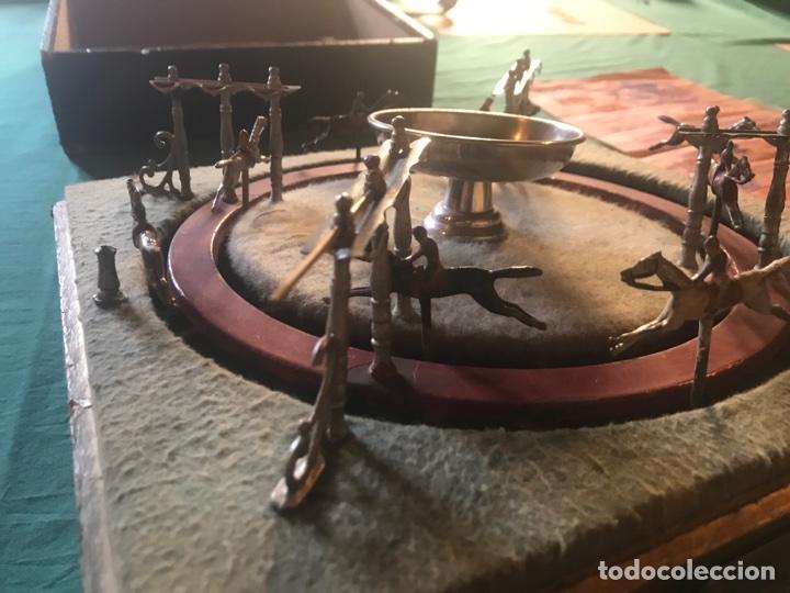 Juegos de mesa: Juego de carrera de caballos francés antiguo - Foto 4 - 107491230