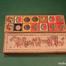 Juegos de mesa: JUEGO DE DOMINO INFANTIL DE MADERA. Lote 107513695