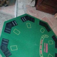 Juegos de mesa: TABLERO POKER 8 JUGADORES CON MALETÍN +10€. Lote 107571444