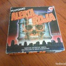 Juegos de mesa: CAJA + TABLERO ALERTA ROJA CEFA. Lote 107623367