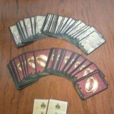 Juegos de mesa: CARTAS RISK SEÑOR DE LOS ANILLOS PARKER. Lote 107623427