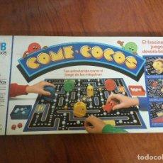 Juegos de mesa: CAJA + TABLERO COME COCOS MB. Lote 107623487