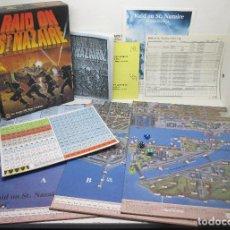 Juegos de mesa: JUEGO DE MESA WARGAME, RAID ON ST. NAZAIRE, AVALON HILL 1987, NUEVO, INSTRUCCIONES EN CASTELLANO. Lote 107798943