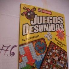 Juegos de mesa: JUEGOS DESUNIDOS. Lote 107802091