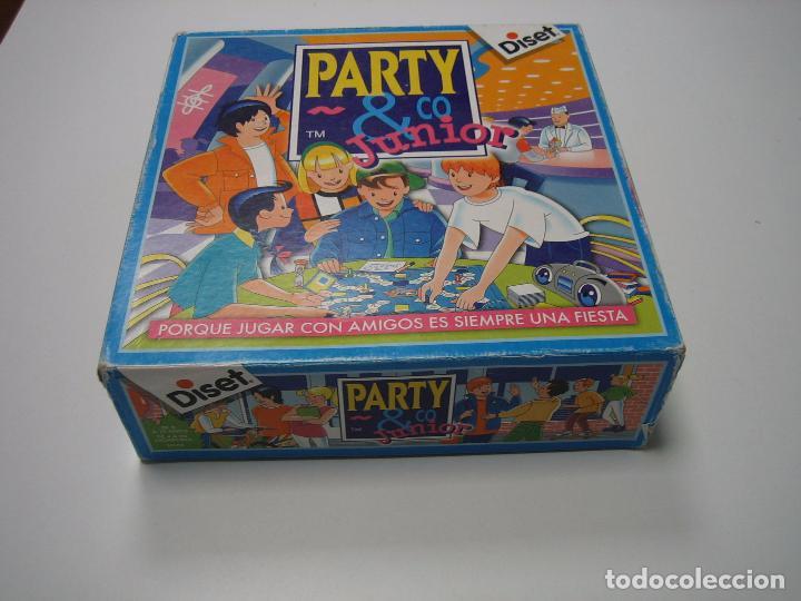 Juego De Mesa Party Junior De Diset 1993 Compl Comprar Juegos De