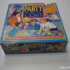Juegos de mesa: JUEGO DE MESA PARTY JUNIOR DE DISET 1993. COMPLETO. Lote 107936419