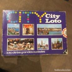 Juegos de mesa: JUEGO DE MESA EDUCA CITY LOTO. Lote 108297751