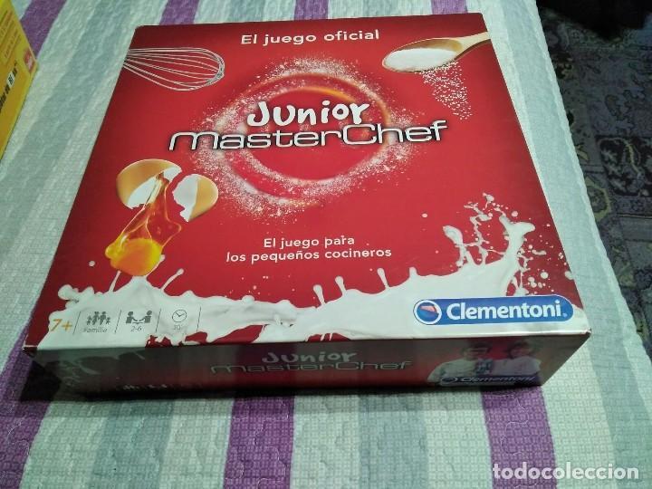 Juego De Mesa Masterchef Junior Completo Comprar Juegos De Mesa