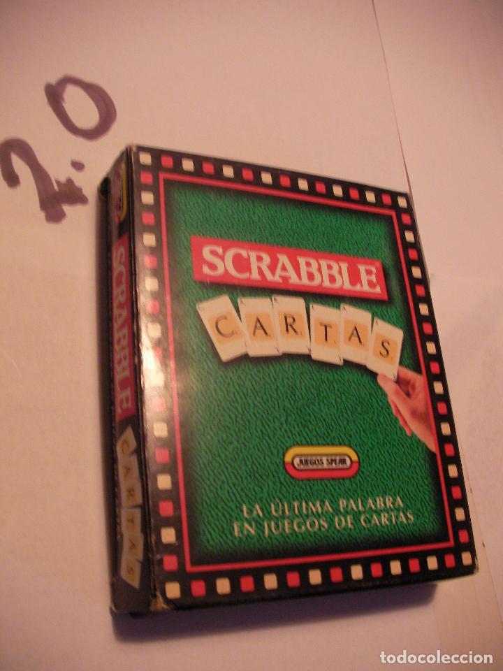 Carta Juego Scrabble Comprar Juegos De Mesa Antiguos En