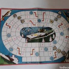 Juegos de mesa: TABLERO CARTON JUEGO ANTIGUO KARPA. Lote 108334378