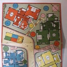 Juegos de mesa: TABLERO CARTON DE JUEGO DE MESA KARPA. Lote 108334532