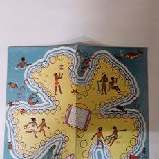 Juegos de mesa: TABLERO DE CARTON DE JUEGO DE MESA ANTIGUO. Lote 108334660