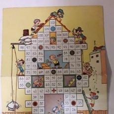 Juegos de mesa: TABLERO EN CARTON DE JUEGO DE MESA ANTIGUO. Lote 108334895