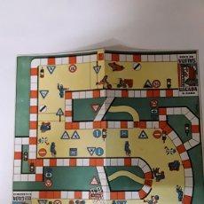 Juegos de mesa: TABLERO EN CARTON DE JUEGO DE MESA ANTIGUO. Lote 108334968