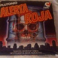 Juegos de mesa: JUEGO CEFA PLUTONIO ALERTA ROJA AÑOS 80 CON PIEZAS RETRACTILADAS.MUY NUEVO.MB.MADEL.AIRGAM.LEGO.. Lote 108351067