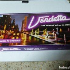 Juegos de mesa: JUEGO DE MESA VENDETTA, A ESTRENAR, DE BORRÀS, LA CAJA MIDE 51 * 26 CMS.. Lote 108404507