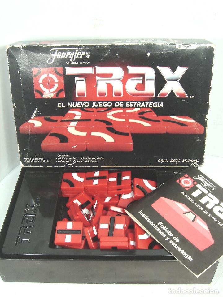 Juegos de mesa: JUEGO DE MESA - TRAX FOURNIER S.A - JUEGO ESTRATEGIA 1987 --- FICHAS ¡¡COMPLETO¡¡ - Foto 2 - 108432035