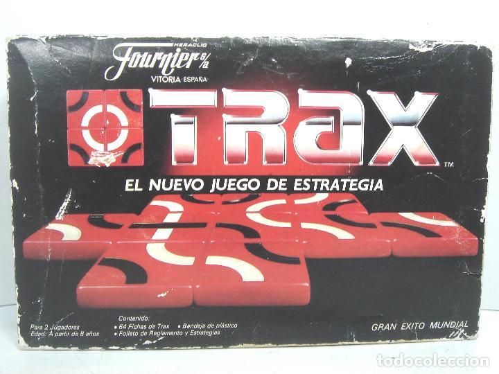 Juegos de mesa: JUEGO DE MESA - TRAX FOURNIER S.A - JUEGO ESTRATEGIA 1987 --- FICHAS ¡¡COMPLETO¡¡ - Foto 3 - 108432035