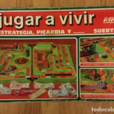 Juegos de mesa: JUEGO DE MESA JUGAR A VIVIR DE AYPE. Lote 144102113
