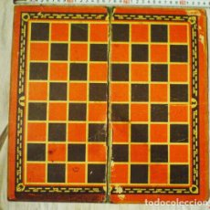 Juegos de mesa: TABLERO ANTIGUO DE DAMAS Y AJEDREZ .URSS. Lote 108673071