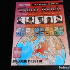 Juegos de mesa: JUEGO DE MESA - JOHN PRADO'S THIRD REICH - WARGAME DE AVALANCHE PRESS. Lote 108709951