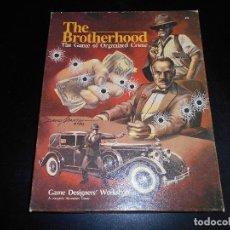 Juegos de mesa: JUEGO DE MESA - THE BROTHERHOOD - GDW GAMES. Lote 108713991