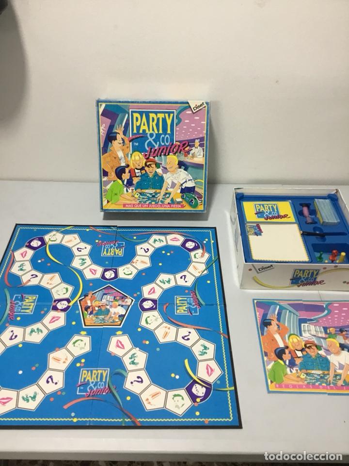Party Co Junior Diset 1993 Comprar Juegos De Mesa Antiguos En