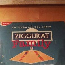 Juegos de mesa: JUEGO ZIGGURAT FAMILY. NATHAN. Lote 108747976