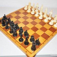 Juegos de mesa: AJEDREZ TEMATICOS .CABALLEROS .MADE IN URSS UNIÓN SOVIÉTICA .. Lote 108750707