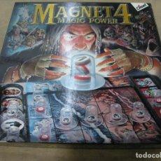 Juegos de mesa: JUEGO MAGNET 4 MAGIC POWER DISET. Lote 108997643