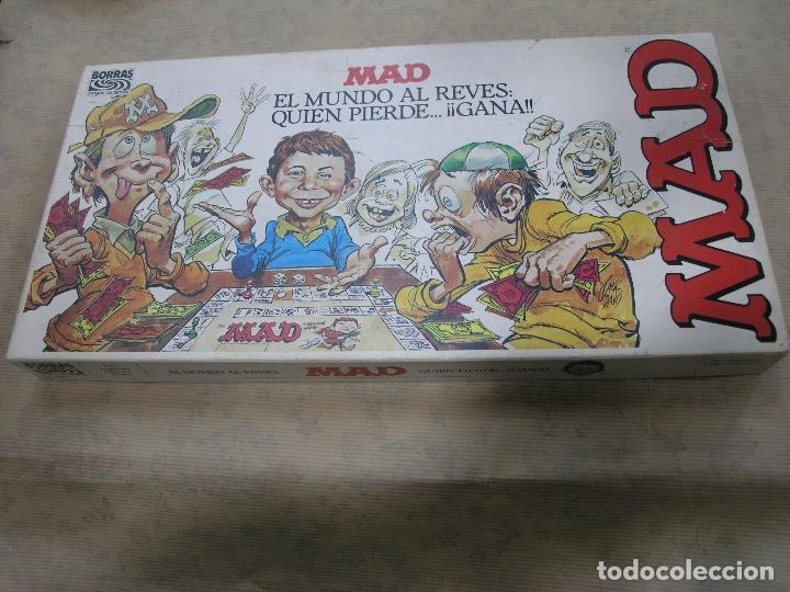 JUEGO MAD BORRAS (Juguetes - Juegos - Juegos de Mesa)