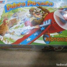 Juegos de mesa: JUEGO PILOTO PIRUETA AVIÓN MOTORIZADO MB. Lote 109081615