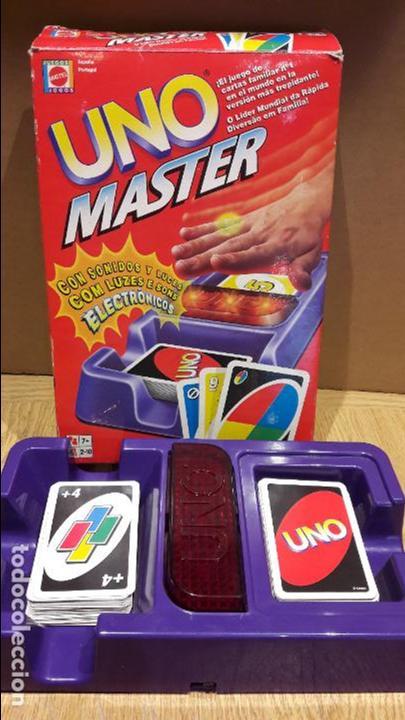 Uno Master De Mattel Con Sonidos Y Luces Co Comprar Juegos De