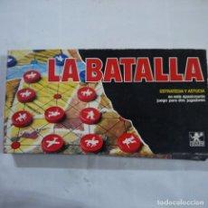 Juegos de mesa: LA BATALLA. ESTRATEGIA Y ASTUCIA - BORRAS. Lote 109195783