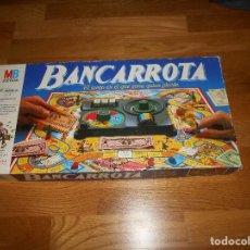 Juegos de mesa: BANCARROTA - MB JUEGOS - JUEGO DE MESA - COMPLETO - 1985. Lote 109320567