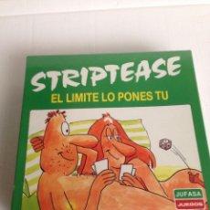 Juegos de mesa: JUEGO DE MESA STRIPTEASE. Lote 109444603