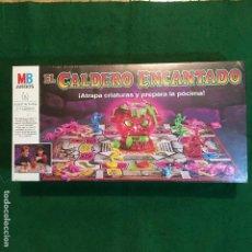 Juegos de mesa: EL CALDERO ENCANTADO DE MB - NUEVO. Lote 173040692