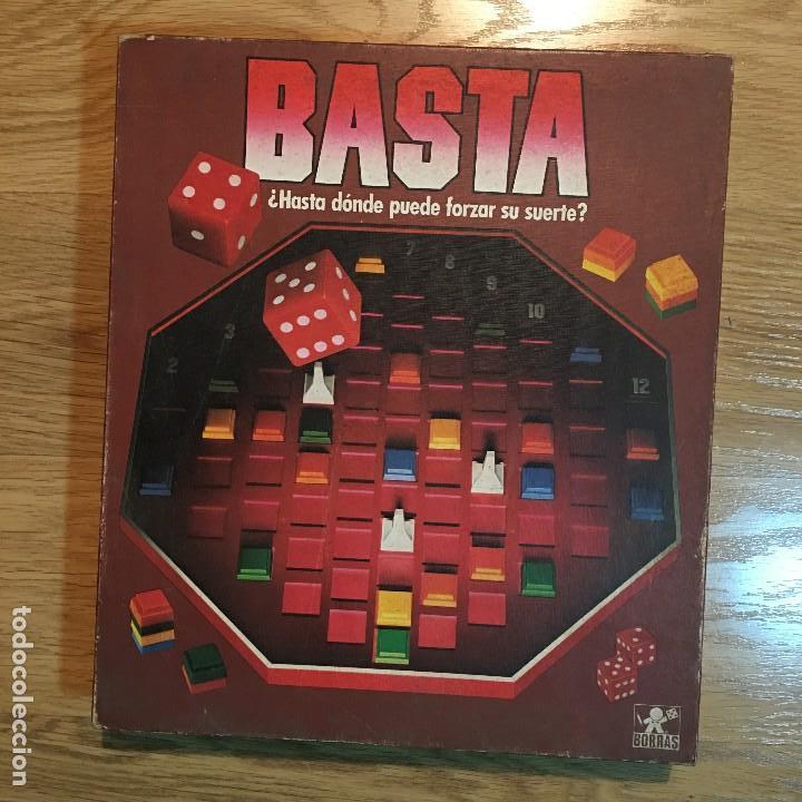 Juego Basta De Borras Nuevo Comprar Juegos De Mesa Antiguos En