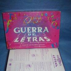 Juegos de mesa: JUEGO DE MESA GUERRA DE LETRAS DE MB 1994. Lote 109977835