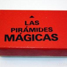 Juegos de mesa: LAS PIRAMIDES MAGICAS - TRUCO DE LA ANTIGUA CAJA MAGIA BORRAS Nº0 - AÑO 1968. Lote 114087032