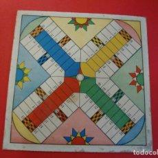 Juegos de mesa: PARCHIS Y JUEGO DE OCA EDITORIAL VALENCIANA ILUSTRADO POR KARPA AÑOS 50. Lote 110019287