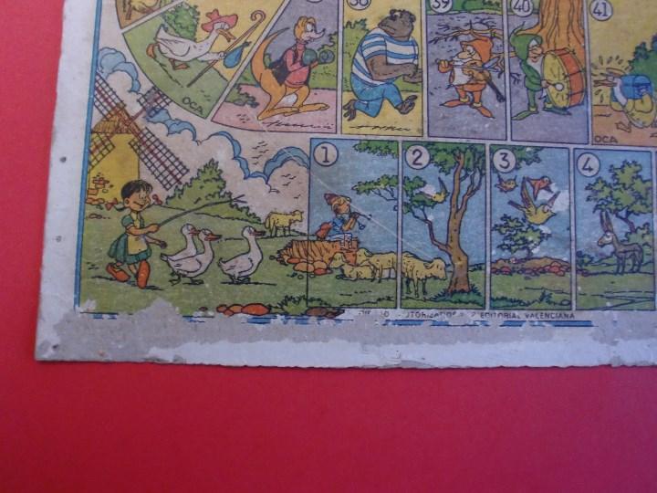 Juegos de mesa: PARCHIS Y JUEGO DE OCA EDITORIAL VALENCIANA ILUSTRADO POR KARPA AÑOS 50 - Foto 4 - 110019287
