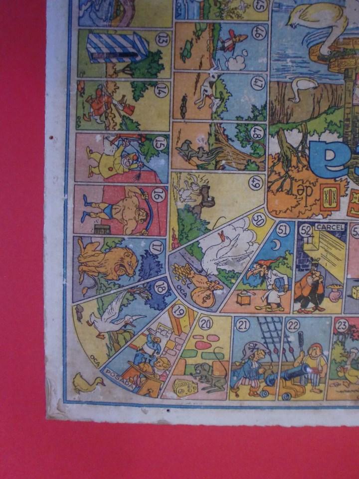 Juegos de mesa: PARCHIS Y JUEGO DE OCA EDITORIAL VALENCIANA ILUSTRADO POR KARPA AÑOS 50 - Foto 6 - 110019287